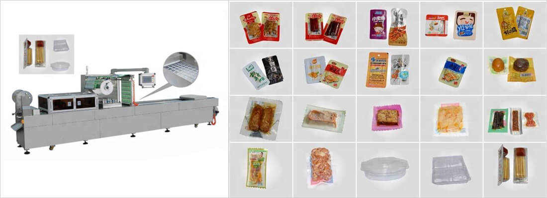 fully automatic vacuum packaging machine