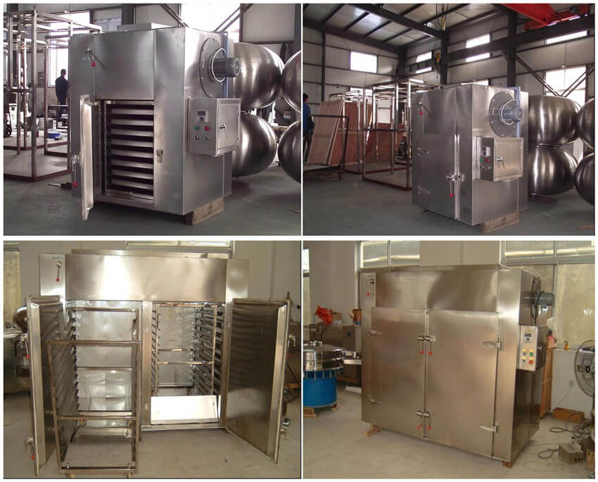 hot air circulation industrial drying oven