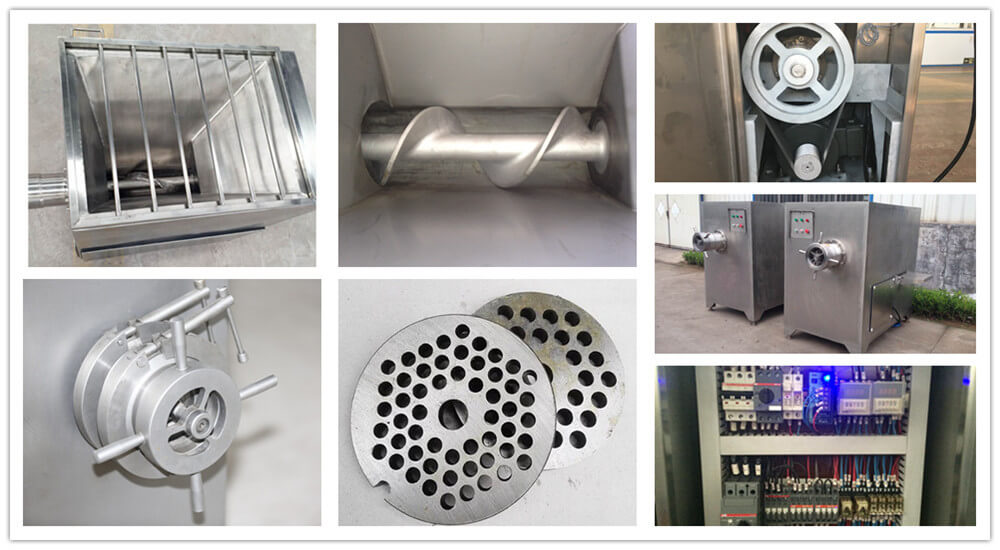 industrial meat grinder parts