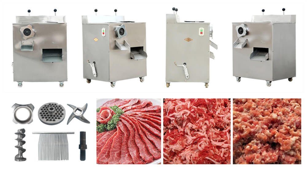 meat cutting machine