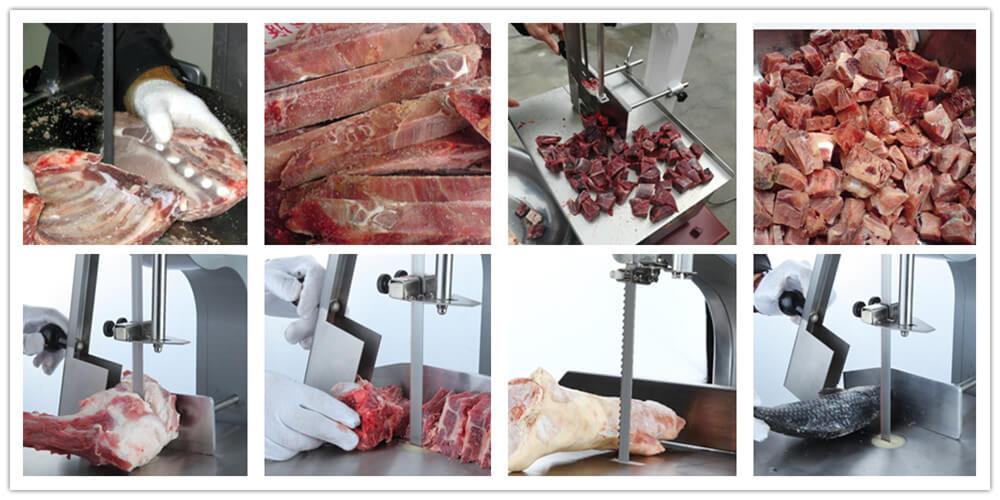 meat saw machine