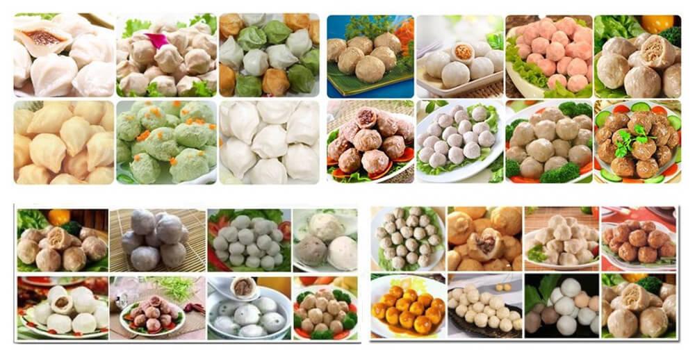 meatball maker machine applications