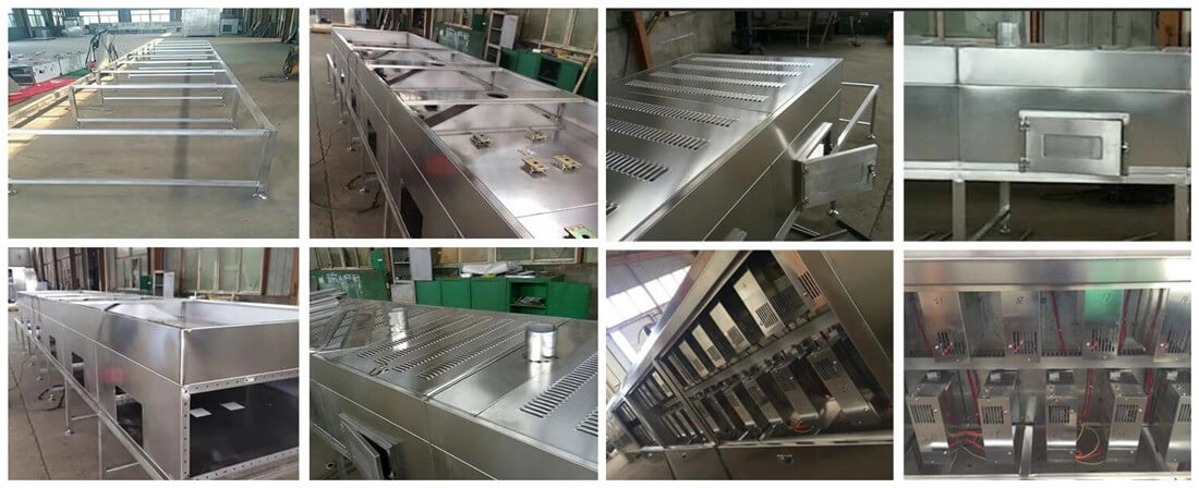 microwave sterilizing drying equipment features