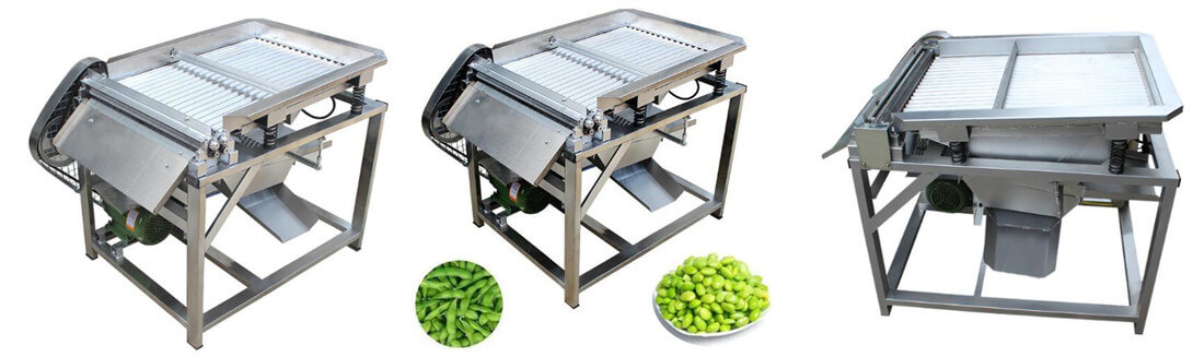 pea shelling machine