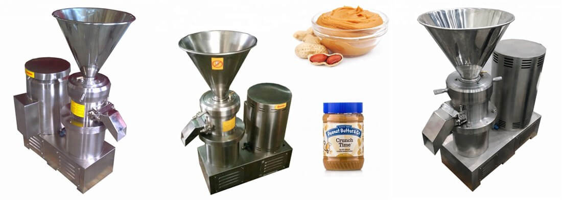 peanut butter colloid mill
