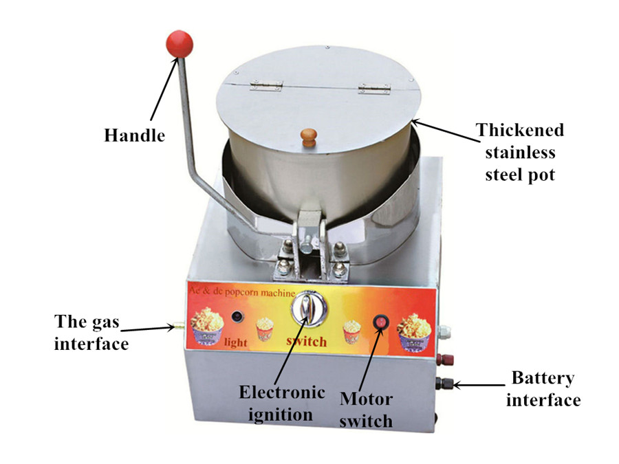 popcorn making machine introduction