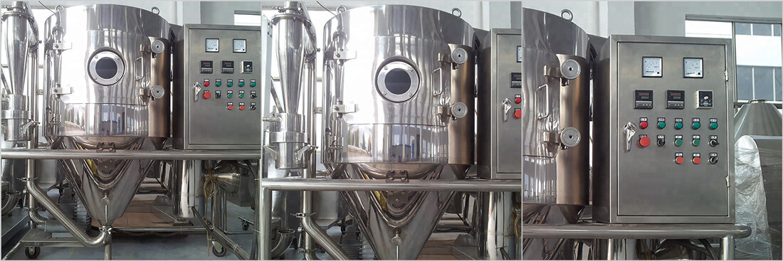 powder spray drying machine