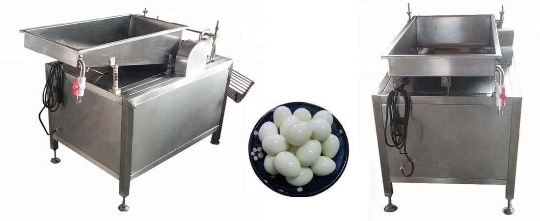 quail egg shelling machine