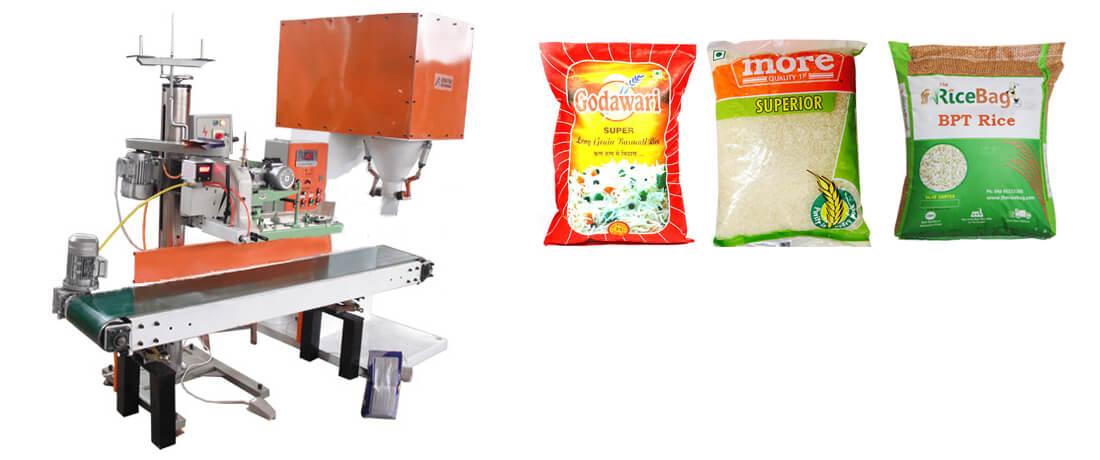 rice quantitative packaging machine