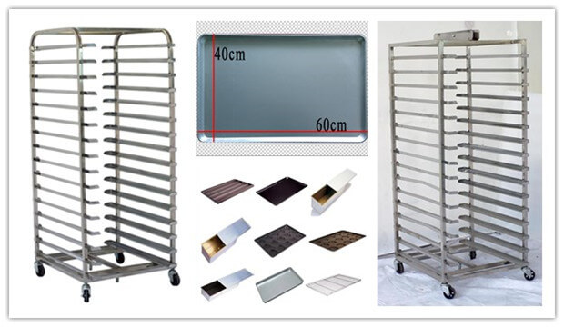 rotary rack oven parts