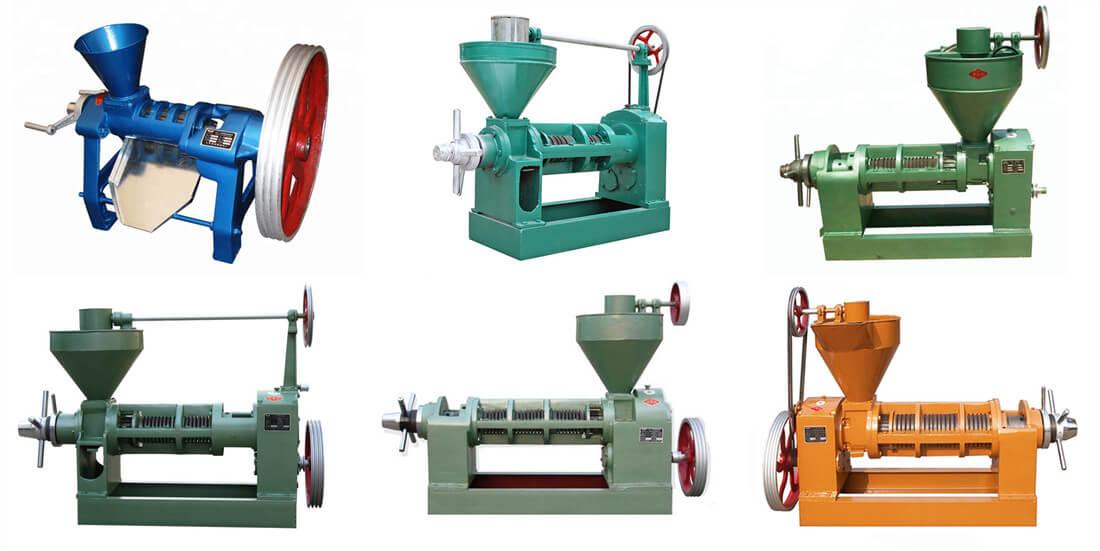 screw oil expeller machine