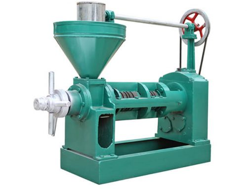 Semi-automatic  Screw Oil Press