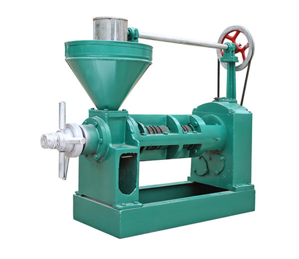 semiautomatic screw oil press