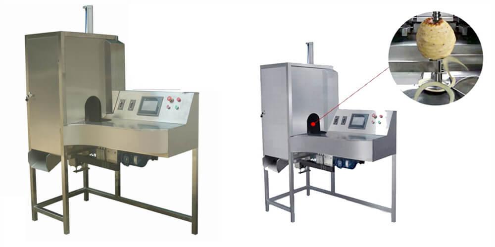 stainless steel fruit peeling machine