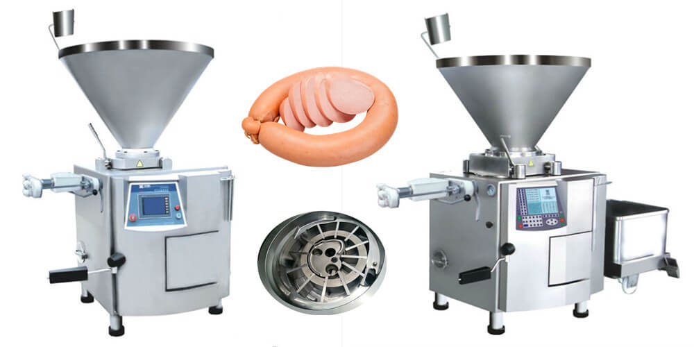 vacuum sausage filler