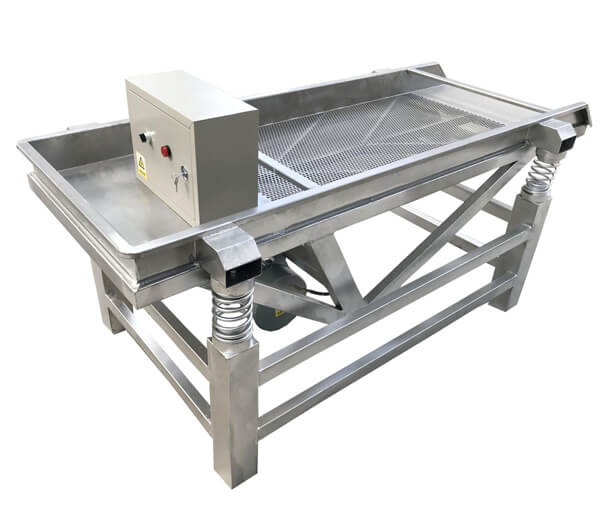 Sprout sheller machine for soy bean sprouts