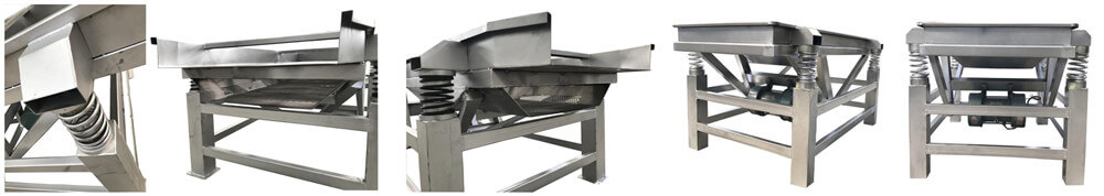 stainless steel sprout shelling machine detailed show