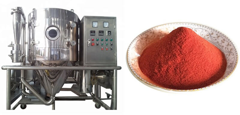 spray drying machine for making tomato powder
